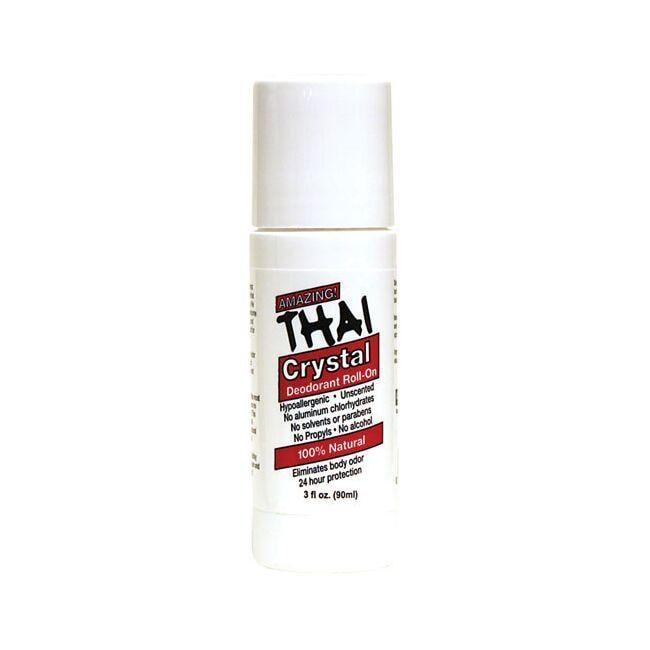 Thai Deodorant StoneThai Crystal Deodorant Roll-On