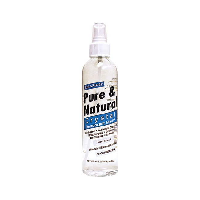 Thai Deodorant Stone Pure & Natural Crystal Deodorant Mist