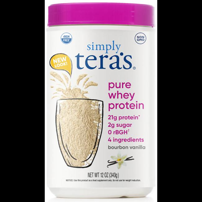 Tera's WheyrBGH Free Whey Protein - Bourbon Vanilla
