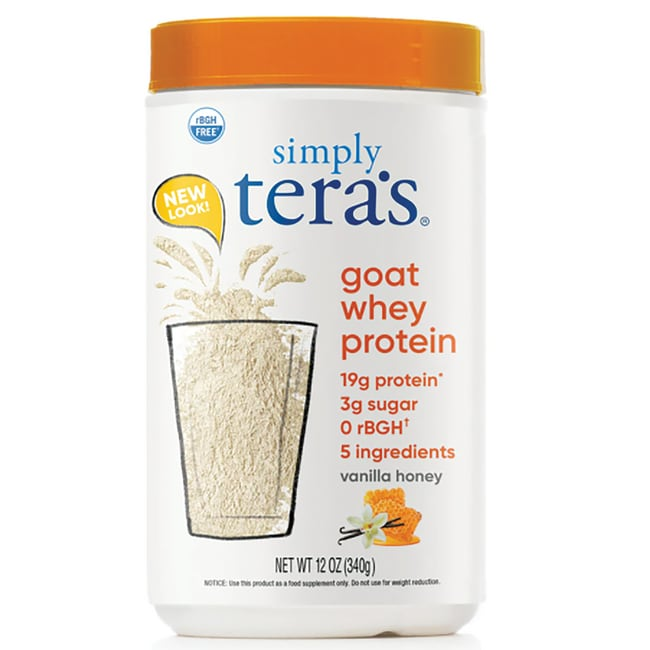 Tera's WheyGoat Whey Protein - Vanilla Honey