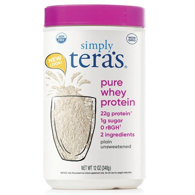 Tera's WheyrBGH Free Whey Protein - Plain Unsweetened