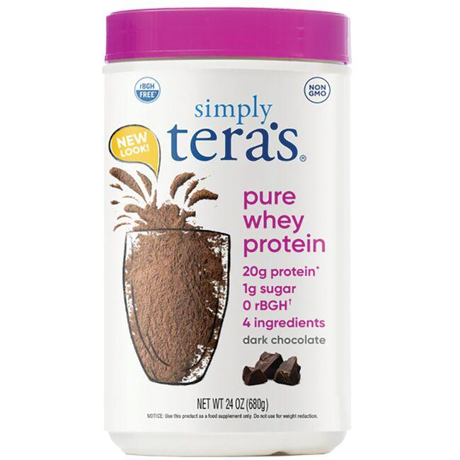 Tera's Whey rBGH Free Whey Protein - Fair Trade Dark Chocolate