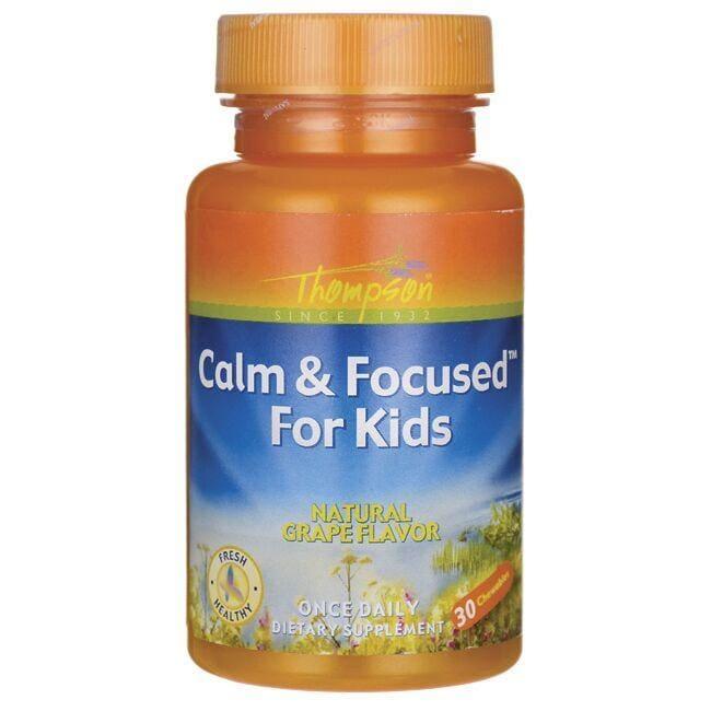 ThompsonCalm & Focused For Kids - Grape