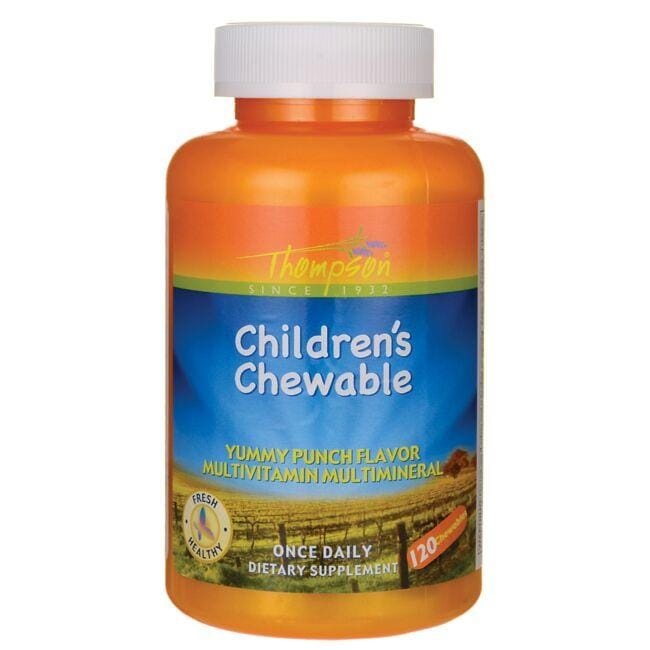 Thompson Children's Chewable - Punch Flavor
