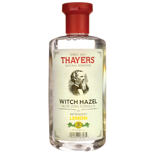 Thayers Natural Remedies Witch Hazel with Aloe Vera Lemon