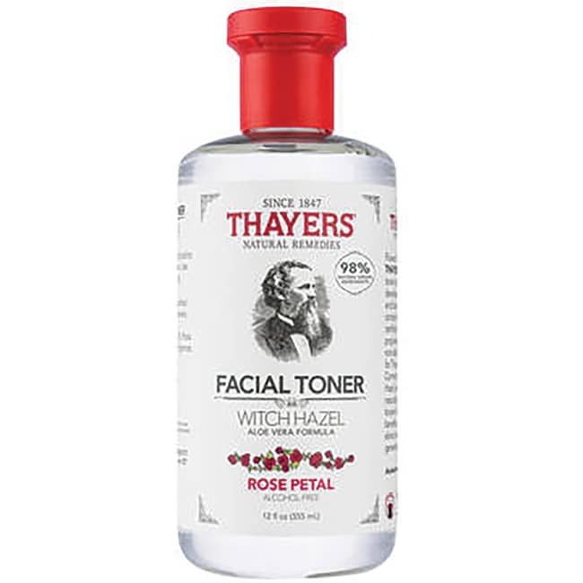 Thayers Natural Remedies Rose Petal Witch Hazel Alcohol Free
