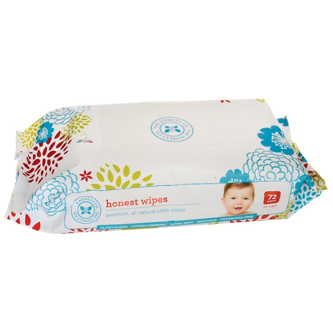 The Honest Company Honest Wipes 72 Wipes