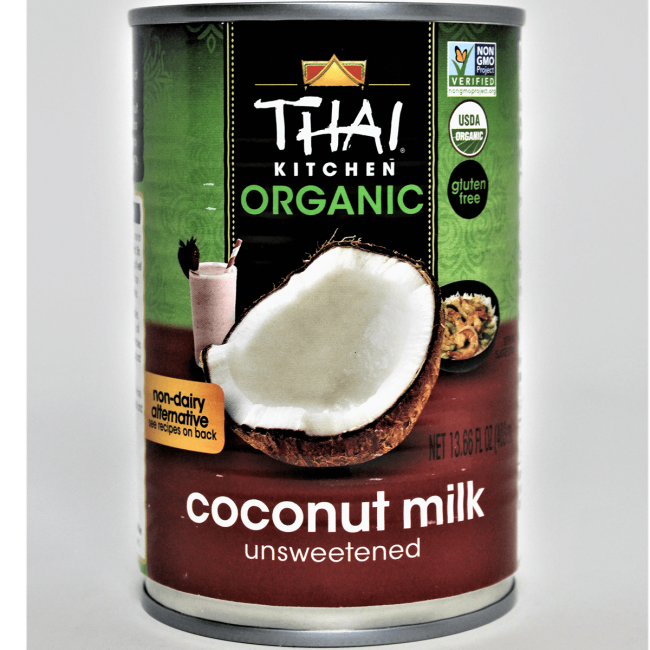 Thai Kitchen Organic Coconut Milk Unsweetened Fl Oz 403 Ml Can Swanson Health Products