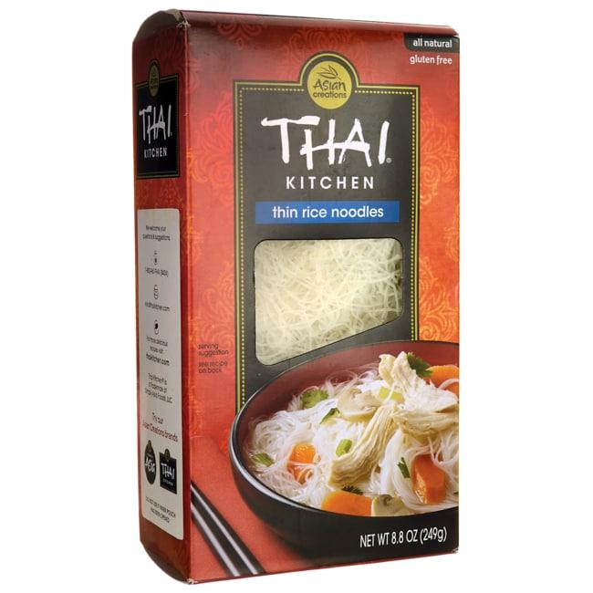 Thai Kitchen Thin Rice Noodles 8.8 Oz Box