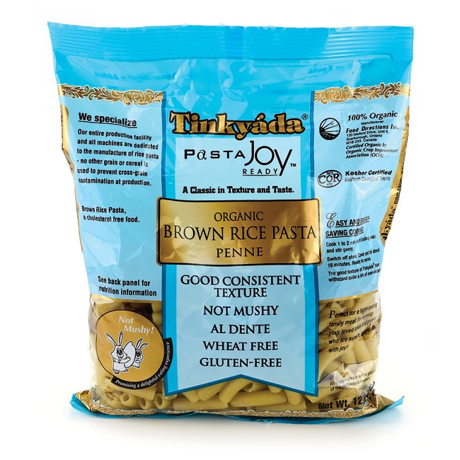 TinkyadaOrganic Brown Rice Penne Pasta