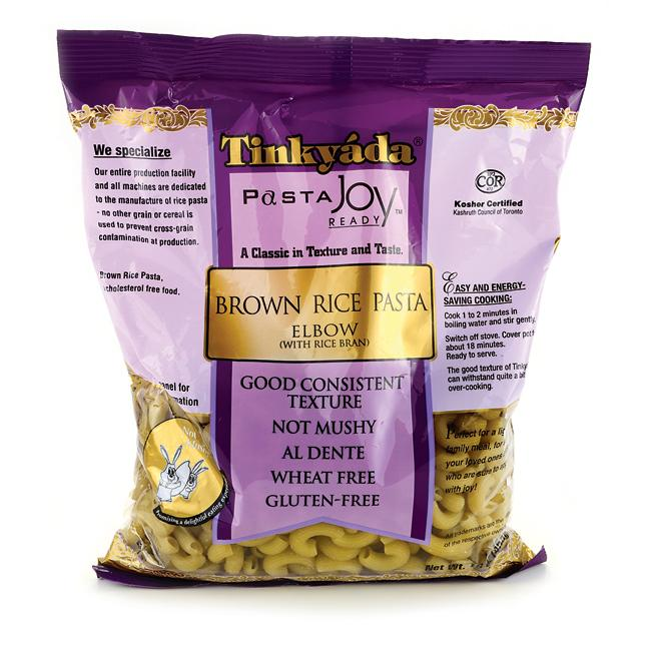 TinkyadaBrown Rice Elbow Pasta