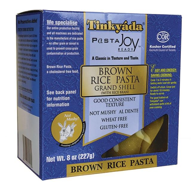 Tinkyada Brown Rice Pasta Grand Shell