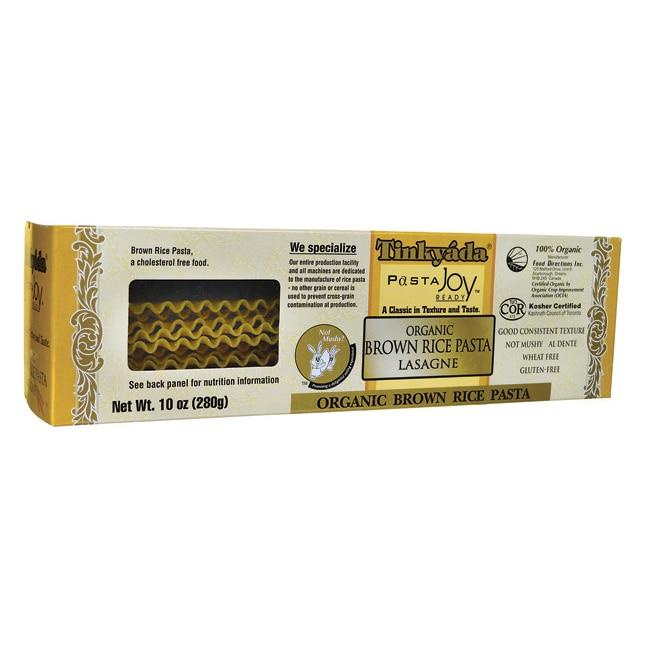 TinkyadaOrganic Brown Rice Pasta Lasagne