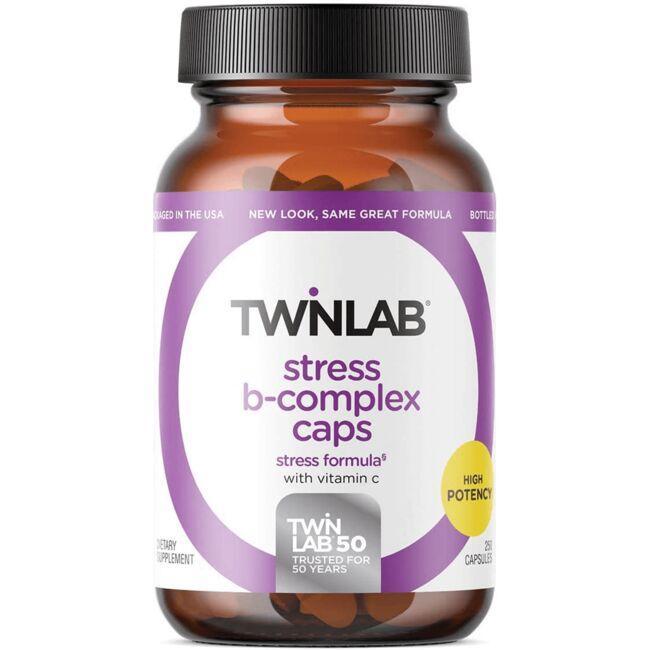 TwinlabStress B-Complex Caps with Vitamin C