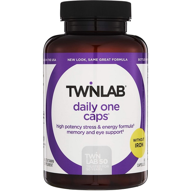 TwinlabDaily One Caps w/o Iron