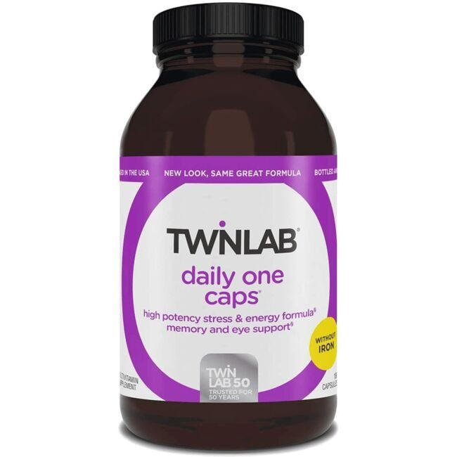 TwinlabDaily One Caps without Iron