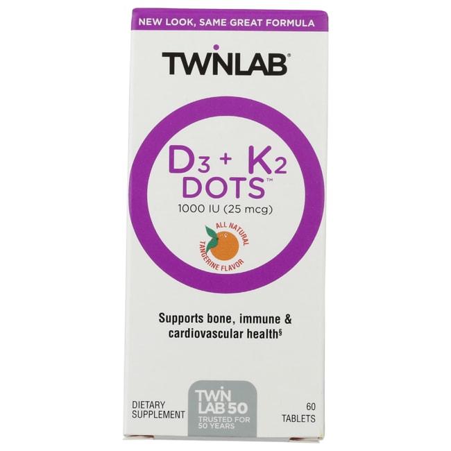 TwinlabVitamin D3 1000 + K2 Dots
