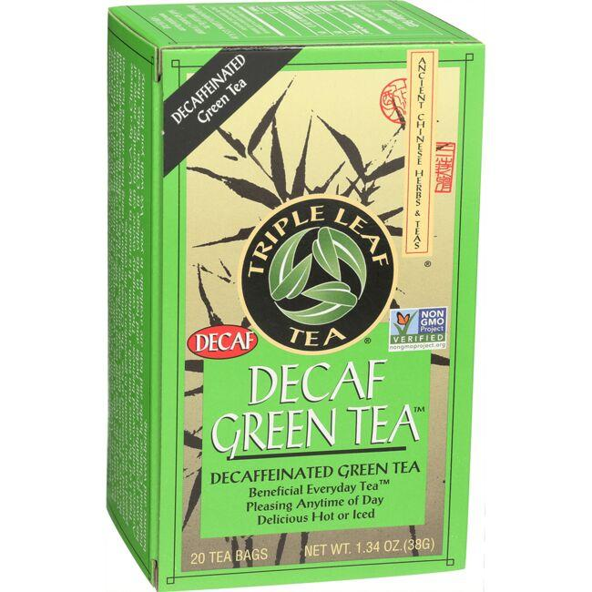 Triple Leaf Tea Decaf Green Tea