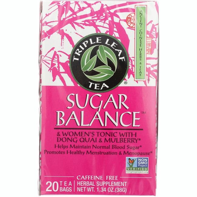 Triple Leaf Tea Sugar Balance and Women's Tonic