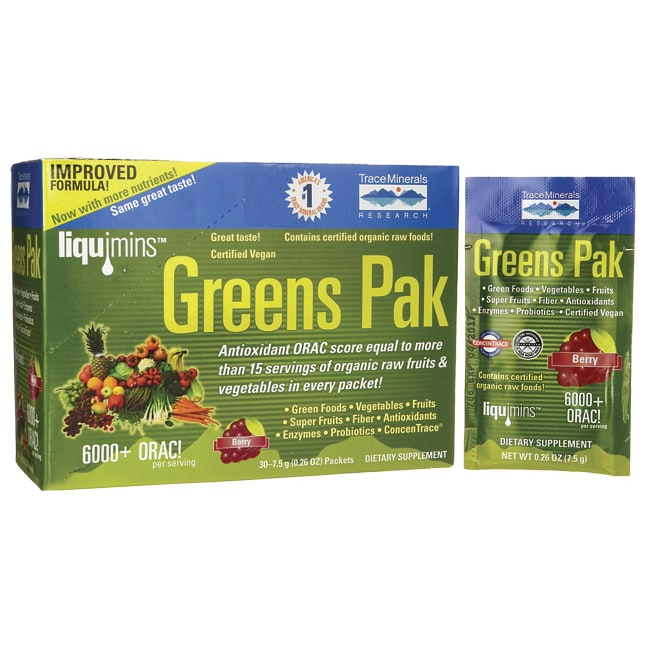 Trace MineralsGreens Pak