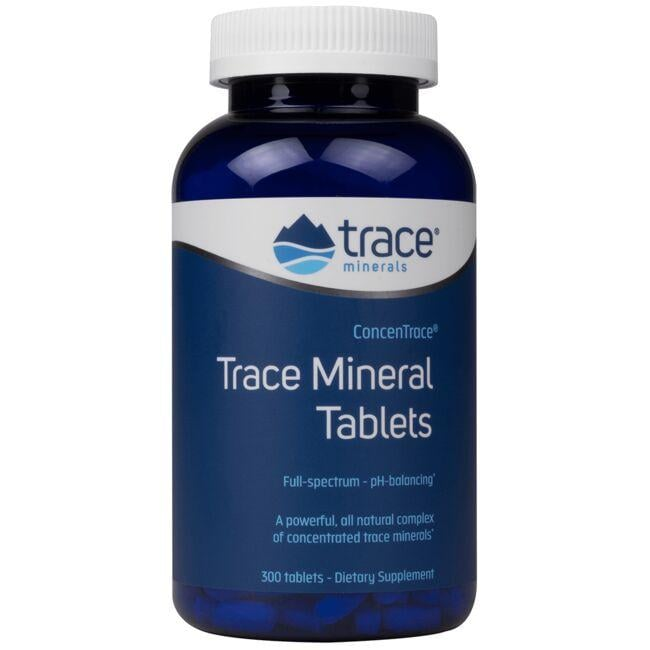 Trace Minerals Concentrace Trace Mineral Tablets