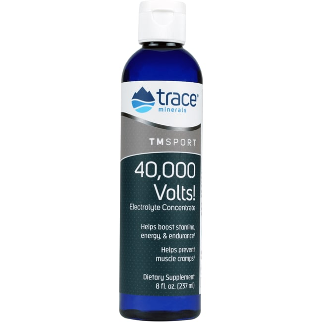 Trace Minerals 40,000 Volts! Electrolyte Concentrate