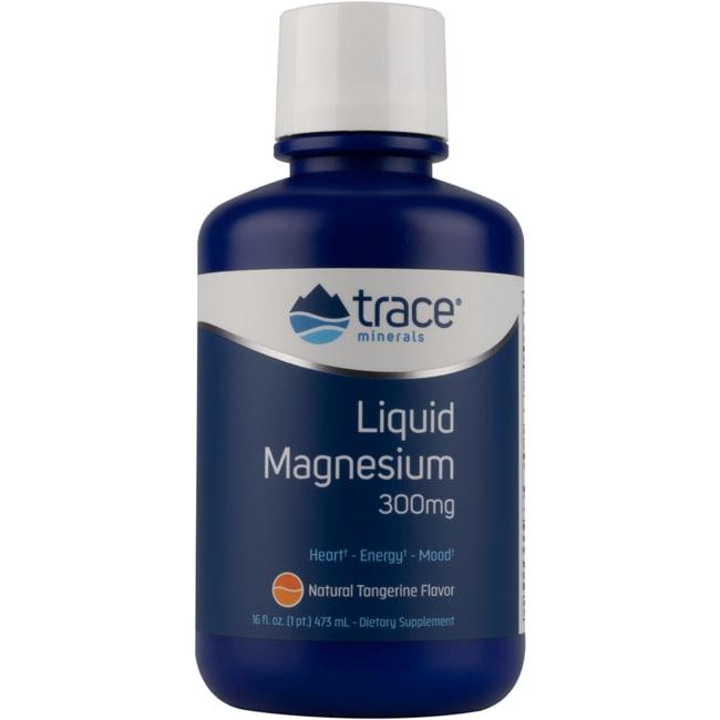 Trace Minerals Liquid Magnesium - Tangerine