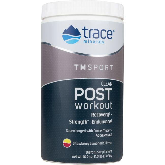 Trace Minerals Clean Post Workout - Strawberry Lemonade