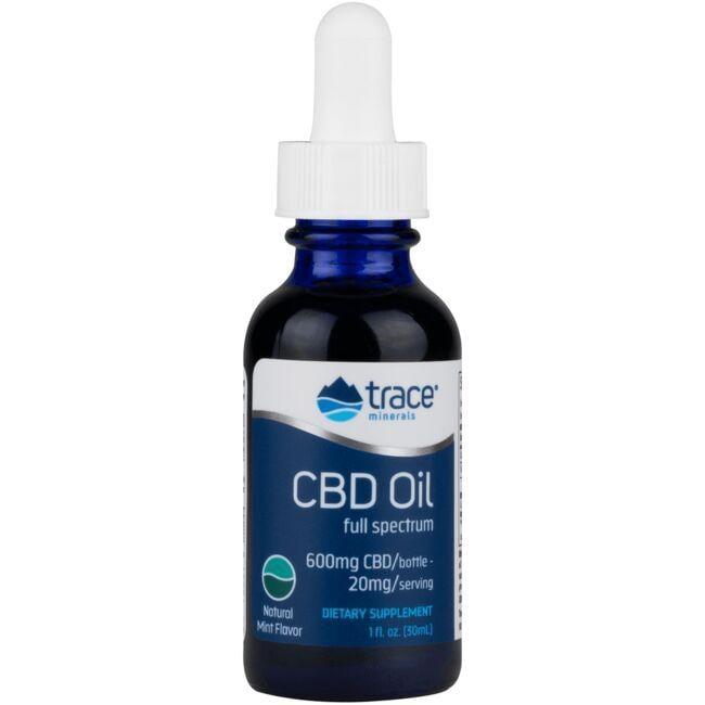 Trace MineralsCBD Full Spectrum Oil - Natural Mint