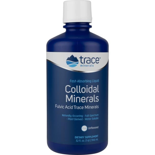 Trace Minerals Colloidal Minerals - Unflavored