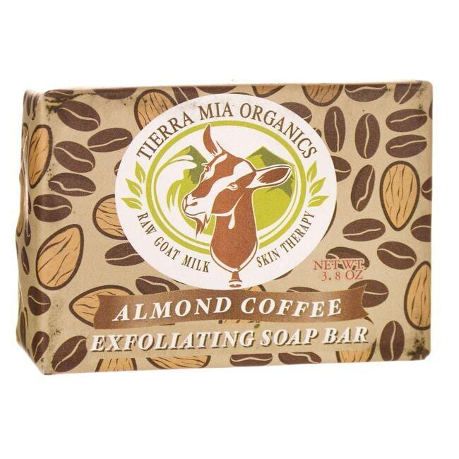 Tierra Mia OrganicsAlmond Coffee Exfoliating Soap Bar