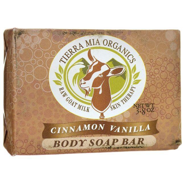 Tierra Mia OrganicsBody Soap Bar - Cinnamon Vanilla