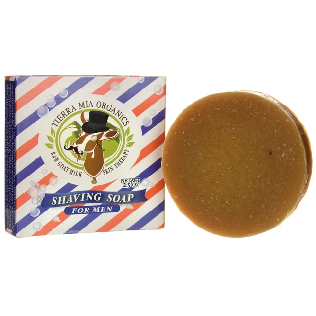 Tierra Mia Organics Shaving Soap for Men