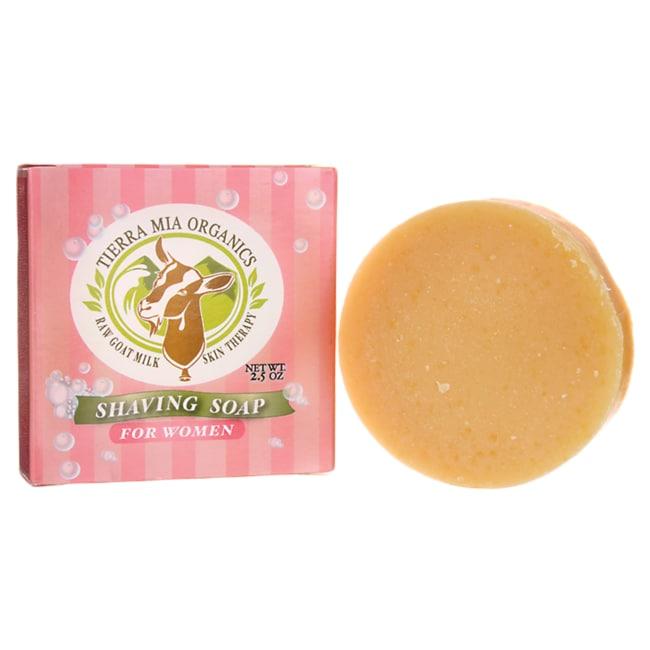 Tierra Mia Organics Shaving Soap for Women