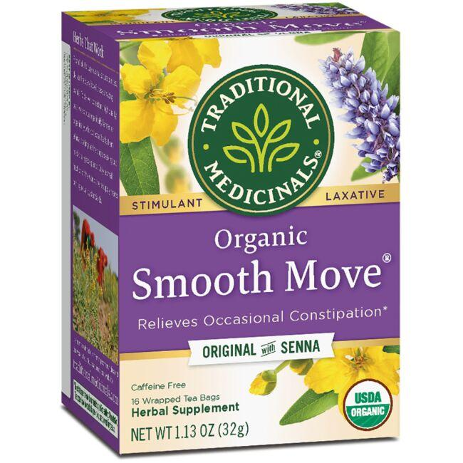Traditional Medicinals Organic Smooth Move Tea - Original with Senna
