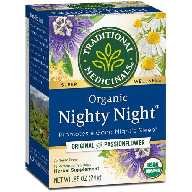 Traditional Medicinals Organic Nighty Night Tea - Original with Passionflower