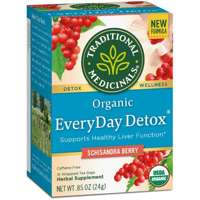 Traditional Medicinals Organic EveryDay Detox Tea - Schisandra Berry
