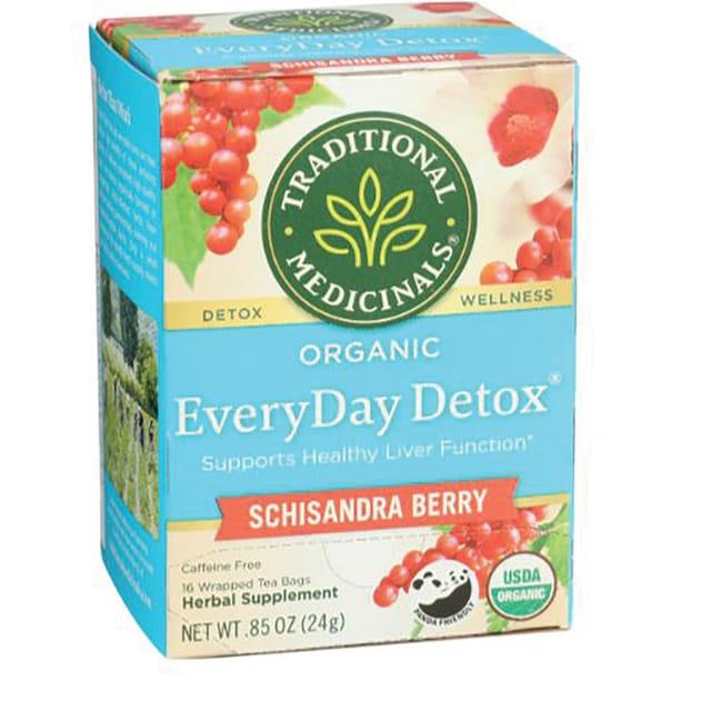 Traditional medicinals detox