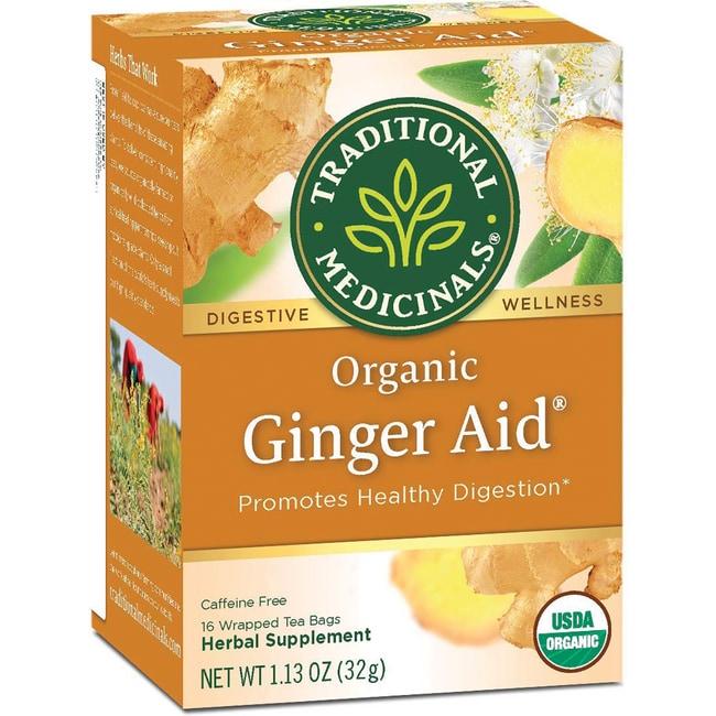 Traditional Medicinals Organic Ginger Aid Tea
