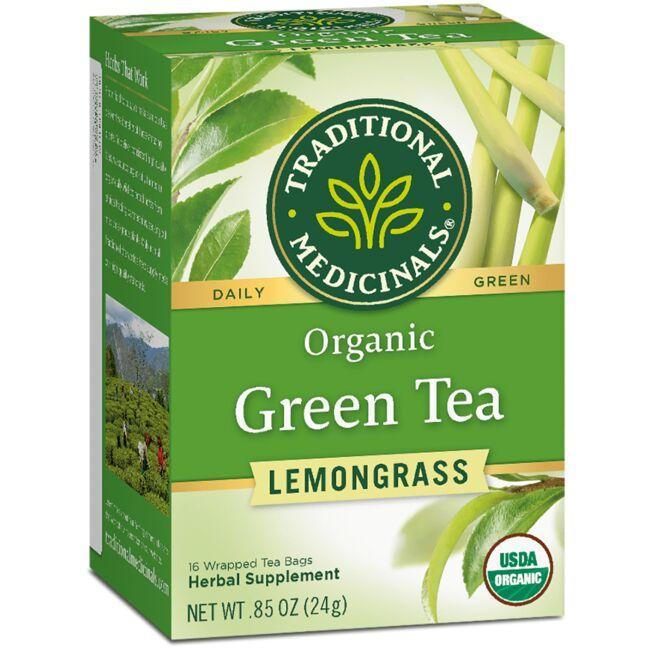 Traditional MedicinalsOrganic Green Tea with Lemongrass