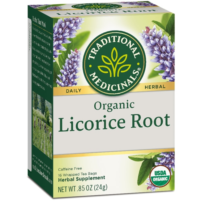 Traditional MedicinalsOrganic Licorice Root Tea