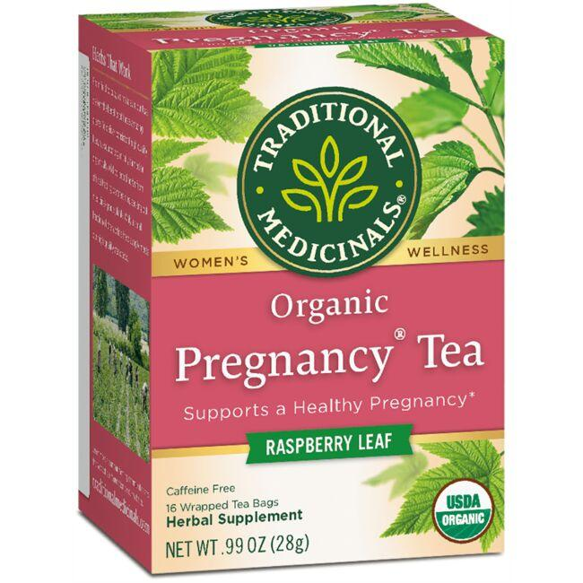 Traditional Medicinals Organic Pregnancy Tea - Raspberry Leaf