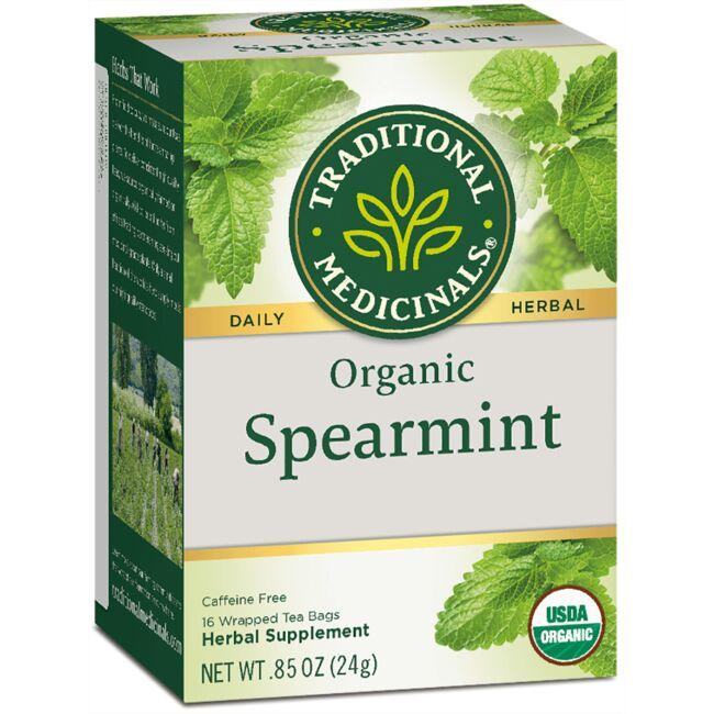 Traditional Medicinals Organic Spearmint Tea