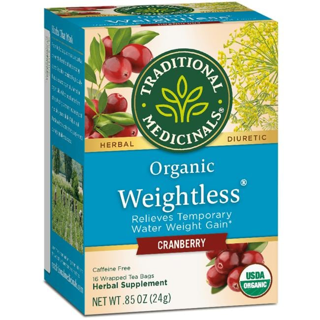 Traditional Medicinals Organic Weightless Tea - Cranberry