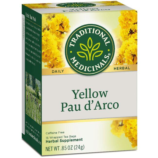 Traditional Medicinals Yellow Pau d'Arco Tea