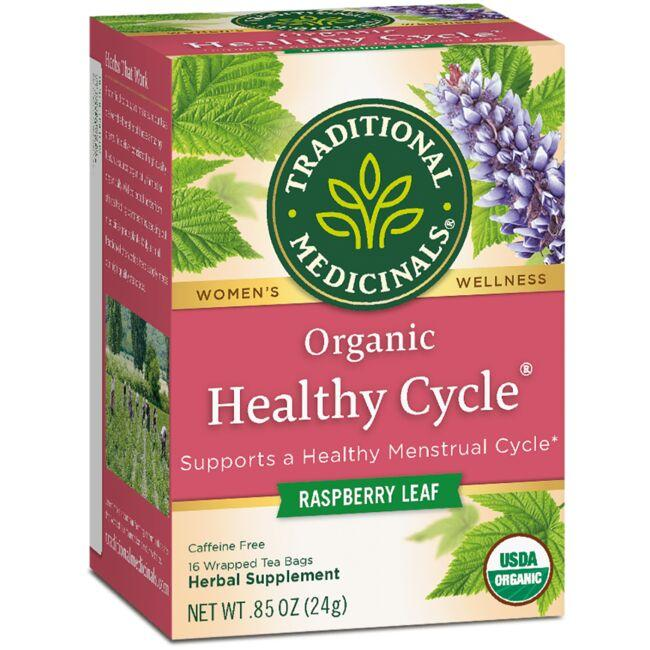 Traditional Medicinals Organic Healthy Cycle Tea - Raspberry Leaf