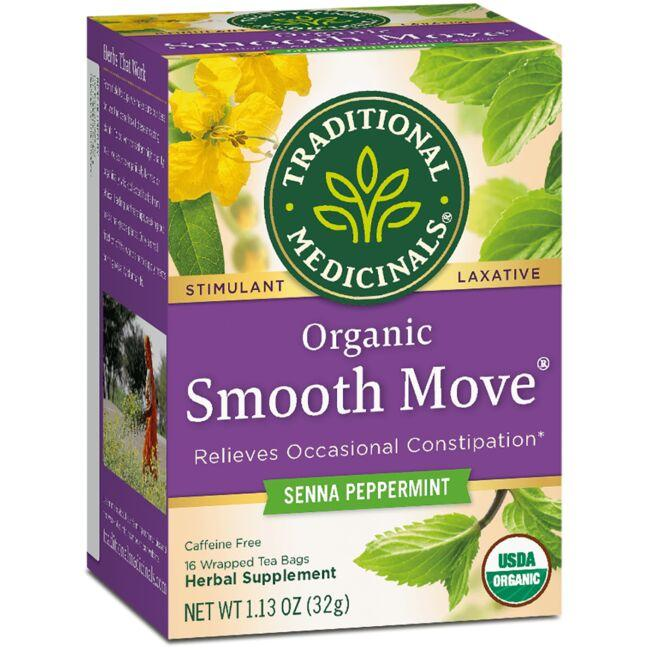 Traditional Medicinals Organic Smooth Move Tea - Peppermint
