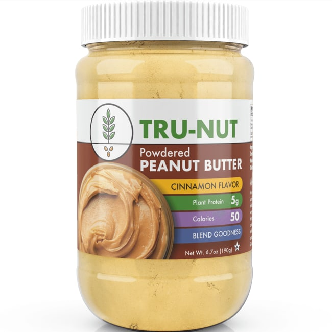 Tru-NutPowdered Peanut Butter - Cinnamon