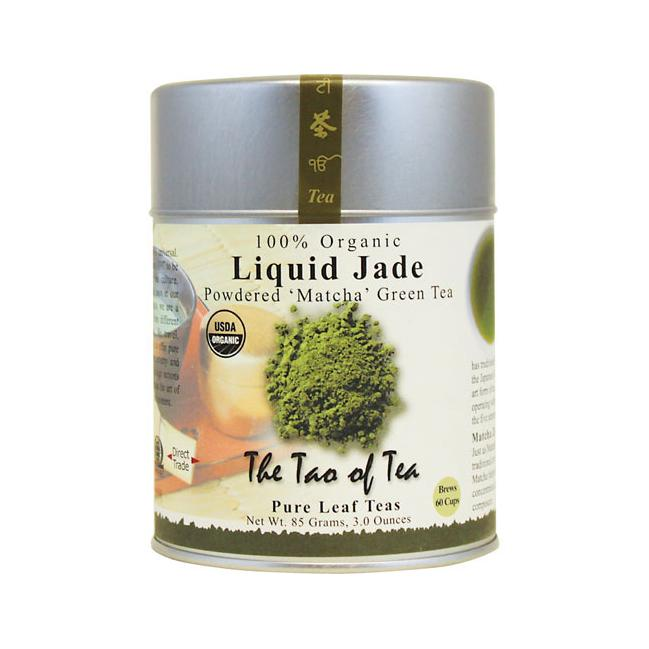 The Tao Of Tea Powdered Matcha Green Tea Liquid Jade