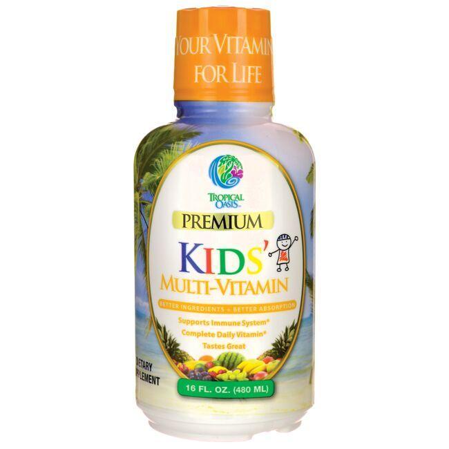Tropical OasisPremium Kids' Multi-Vitamin